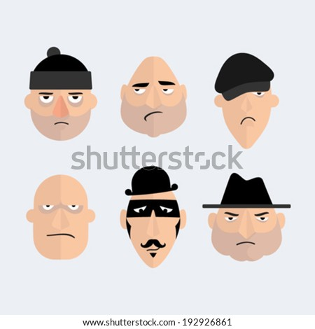 funny italian mobster character cartoon  Stock photo © zkruger
