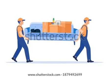 Man with moving cartons Stock photo © photography33