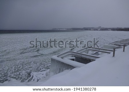 Carámbano agua invierno fresco techo frío Foto stock © LianeM