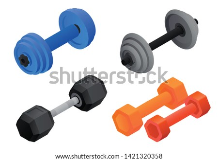 Dumbells Stock photo © Stocksnapper