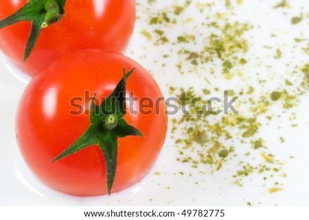 пряный молочный сыра суп небольшой красный Сток-фото © Lizard