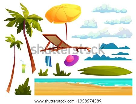 sunny cloud green vector icon design stock photo © rizwanali3d