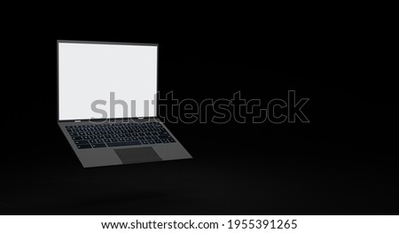 Try Now Concept on Modern Laptop Screen. Stock photo © tashatuvango