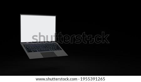 Try Now Concept on Modern Laptop Screen. Stock photo © tashatuvango