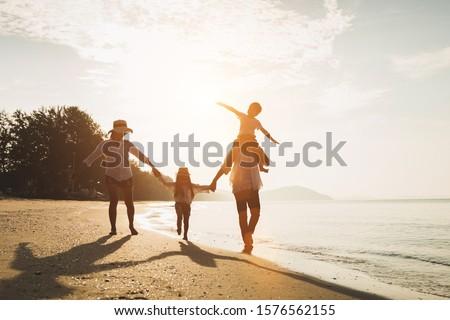 Infância férias de verão mãos sorrir cara Foto stock © zurijeta