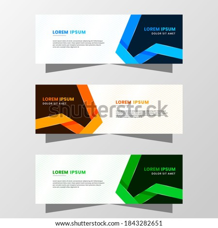 mega sale brochure template in green and blue colors with conffe Stock photo © SArts