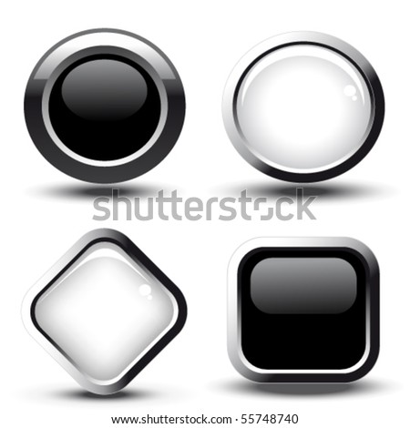 New Collecttion Round Vector Web Element Circular Button Icon De Stock photo © rizwanali3d