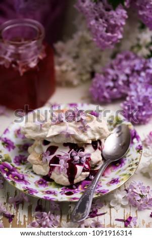 домашний · сирень · сахар · цветок · Vintage - Сток-фото © zoryanchik