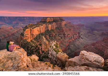 ocidente · Grand · Canyon · Arizona · EUA · sol - foto stock © vichie81