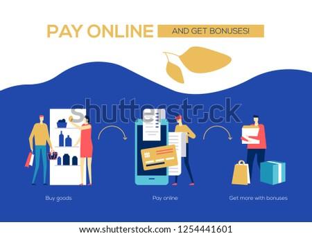 Stock fotó: Illetmény · online · terv · stílus · színes · szalag