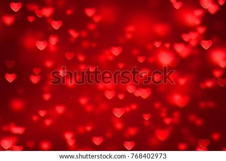 confetti · cuori · coprire · rosso · bianco · eps - foto d'archivio © sarts
