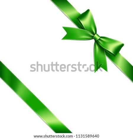 groene · ingesteld · geïsoleerd · witte · papier - stockfoto © olehsvetiukha