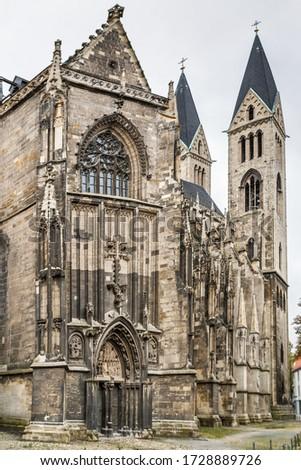 Kathedraal Duitsland elegante gothic frans modellen Stockfoto © borisb17
