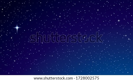 Night sky with stars and nebula. Elements of this image furnishe Stock photo © NASA_images