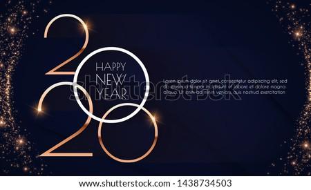 Feliz año nuevo cubrir plantilla negocios diseno tarjeta Foto stock © olehsvetiukha