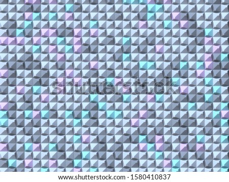 Abstract geometric four pastel color Asymmetrical pyramid backgr Stock photo © djmilic