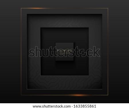 вектора роскошь Vintage квадратный кадр Сток-фото © Iaroslava