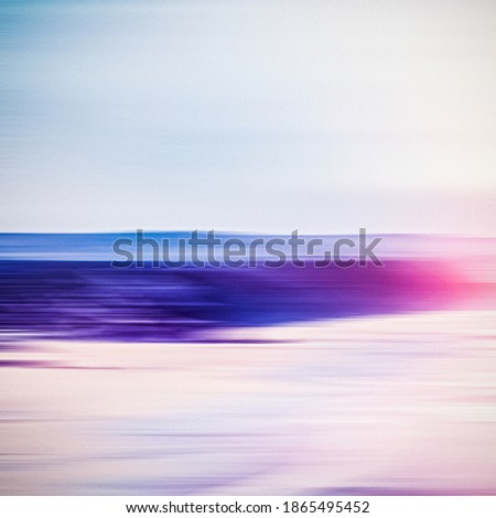 Abstract zee lange blootstelling dromerig oceaan Stockfoto © Anneleven