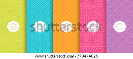 Abstract Colorful Chevron Pattern Background Illustration Stock photo © enterlinedesign