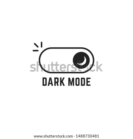 Toggle gadget switch vector icon, flat design style user interface. Stock Vector illustration isolat Stock photo © kyryloff