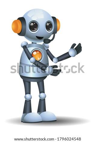 белый гуманоид робота серый 3d иллюстрации науки Сток-фото © limbi007