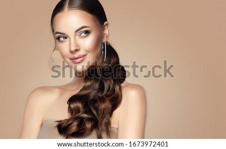 Mode élégant bijoux maquillage produits Photo stock © Anneleven