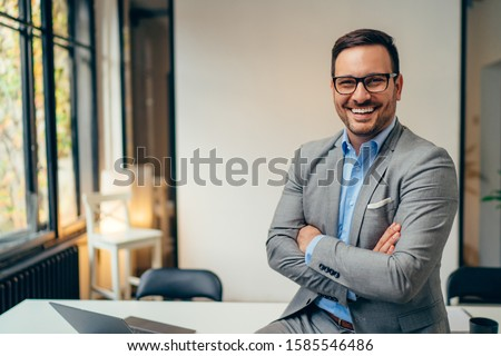 smiling businessman stock photo © photography33