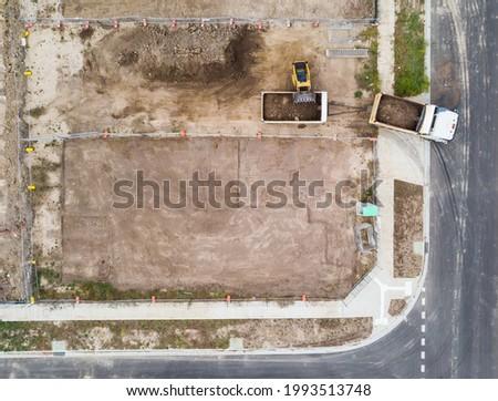 Kettő dolgozik szeméttelep helyszín mozog szemét Stock fotó © Rob300