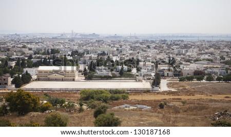 Ver la porta cruzeiro navios Tunísia Foto stock © 5xinc