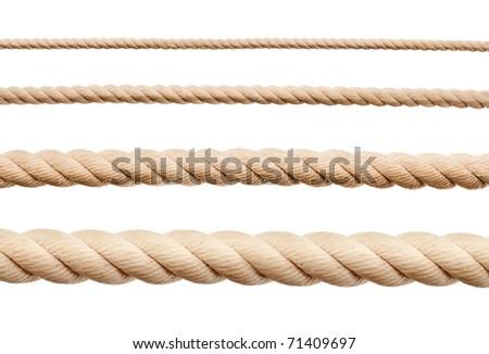 new rope isolated stock photo © michaklootwijk
