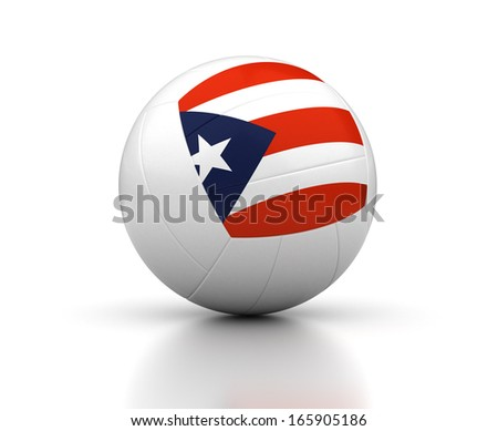 puerto rican volleyball team stock photo © bosphorus
