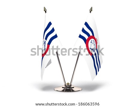 Miniature Flag of Cincinnati Ohio Stock photo © bosphorus