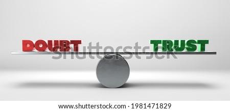 Választ bizalom félelem piros szürke ül Stock fotó © 3mc