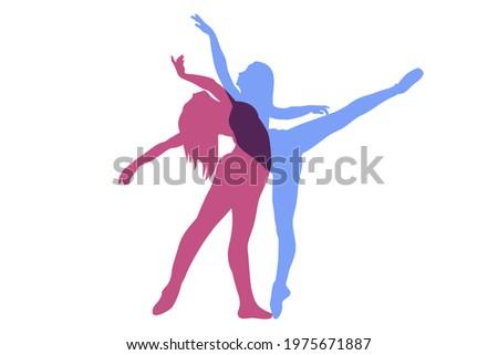 belo · casal · preto · sensual · nu - foto stock © amok