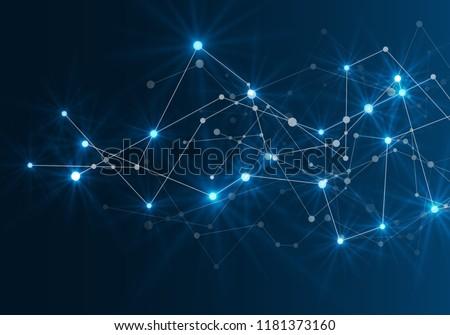 Kapcsolatok fény absztrakt űr alacsony kapcsolódik Stock fotó © m_pavlov