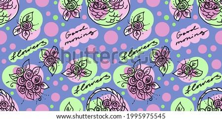 Menina linhas grande flor-de-rosa belo mulher jovem Foto stock © svetography