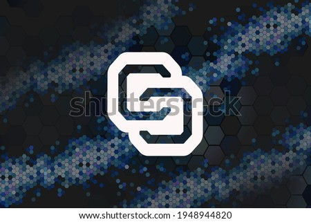 Colossuscoinxt - Digital Currency Symbol. Stock photo © tashatuvango