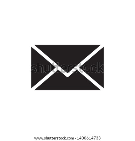 Icon of open envelope for new mail concept. Flat filled outline  Stock photo © ussr