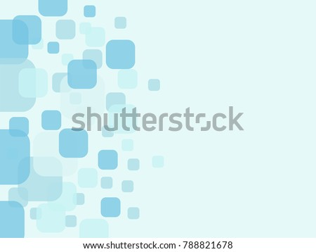 Abstract geometric background. Round Square Pixel Mosaic Vector Banner. Abstract light shape frame Stock photo © ESSL