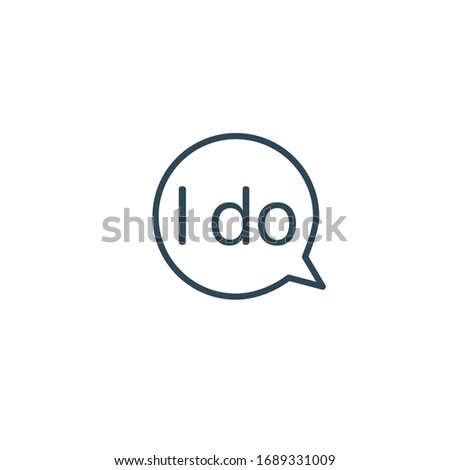 Speech bubble Do Word. Vector callout typography design for social media and bloggers. Motivation to Stock photo © kyryloff