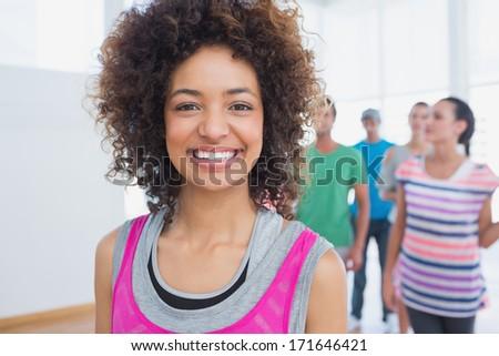 Elöl kilátás gyönyörű fitt fiatal nő Stock fotó © wavebreak_media
