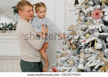 Christmas foto jaar oude meisje mooie Stockfoto © ElenaBatkova