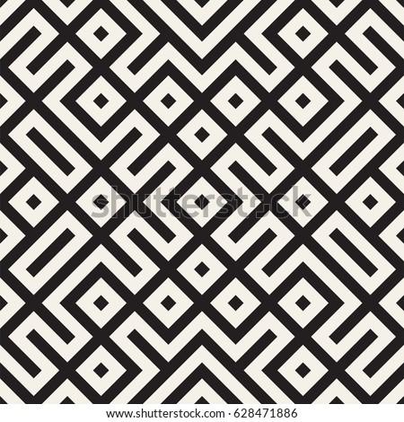 Meetkundig etnische symmetrisch lijnen vector abstract Stockfoto © samolevsky