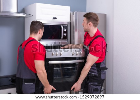 Appliance Home Delivery And Repair Stock photo © AndreyPopov