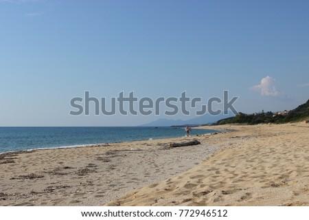 Untamed coast Greece Stock photo © ivonnewierink