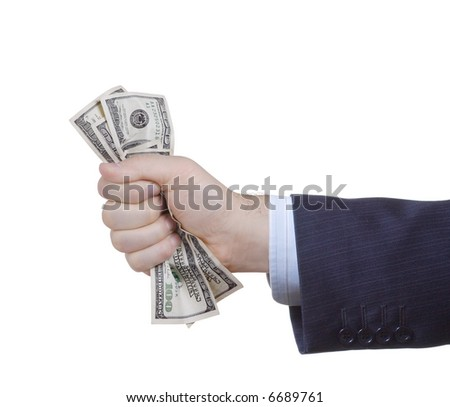 businessman in suit tight-fisted Stock photo © photography33