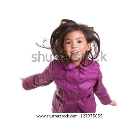 asian · kind · kid · meisje · winter · portret - stockfoto © lunamarina