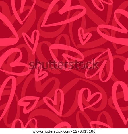 Hearts pattern Stock photo © smuki