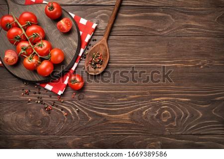 Stock photo: tomatoe background