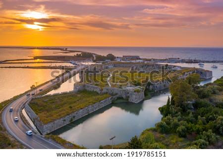 Monument on Lefkada Island Stock photo © igabriela